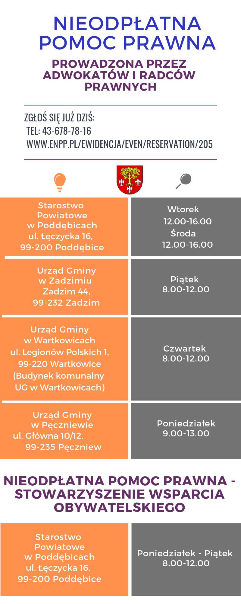 1c1bb0d515c568 Nieodpłatna Pomoc Prawna - Powiat Poddębicki